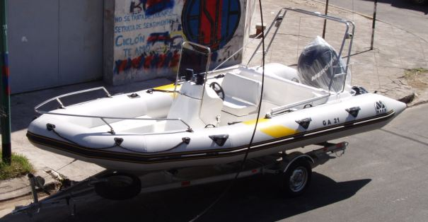 MOON 630 Patagon RIB ribs rigid inflatable boats. Full Equipped. Semirrigidas neumaticas inflables. Equipo Full