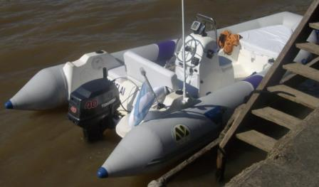 MOON 440 T ribs rigid inflatable boats. Semirrigida neumatica inflable