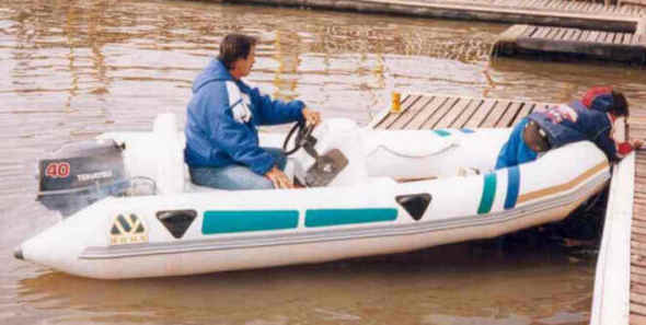 MOON 410 RIGID INFLATABLE BOATS SHIPYARDS