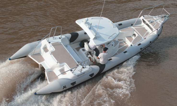 MOON NAV III 900 MINICAB OCEAN OFFSHORE. Rigid Inflatable Boat Ribs, Rhibs, crafts, ships, sail, navigation, Boatyards Shipyards