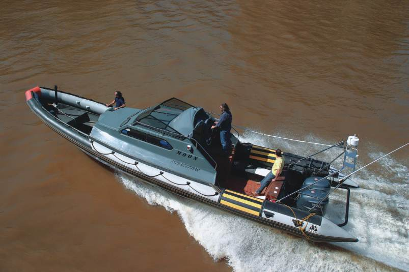 MOON INTERCEPTOR. CABIN RIBS. Rgid Inflatable Boat Ribs, Rhibs, crafts, military, profesional, navy, coastguards, pna, rescue, patrol, police, fireman, passangers, tourism